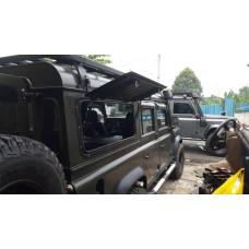 Front Runner Gullwing Window - Aluminium / Land Rover Defender