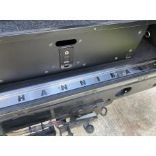 Hannibal Safari Stainless Steel Defender Rear Carpet Retainer