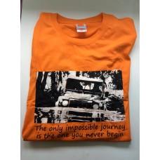Land Rover Defender Orange Shirt