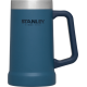 Stanley Adventure Vacuum Stein Mug 24oz Blue Colour 24 OZ (710ml)